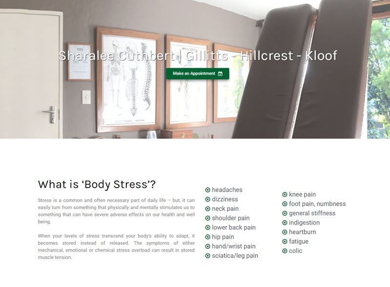 upper highway body stress release website sharalee cuthbert content kraal design